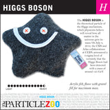 Higgs boson subatomic particle plush toy