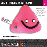 anticharm quark subatomic particle plush toy