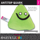 antitop quark subatomic particle plush toy