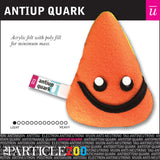 antiup quark subatomic particle plush toy
