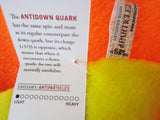 antidown quark subatomic particle plush toy