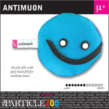 antimuon subatomic particle plush toy