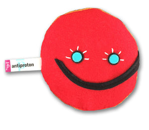 antiproton subatomic particle plush toy