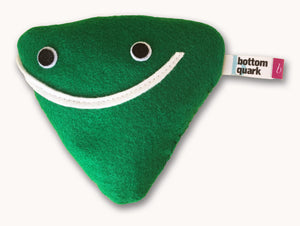bottom quark subatomic particle plush toy