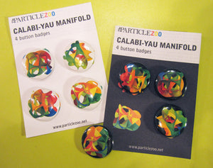 calabi-yau pins button badges