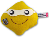 electron-antineutrino subatomic particle plush toy