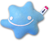 gluon subatomic particle plush toy