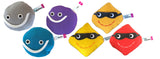 lepton 6-pack subatomic particle plush toy