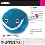 muon subatomic particle plush toy