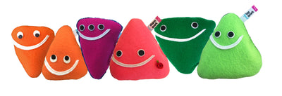 quark 6-pack subatomic particle plush toy