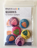 subatomic particle pinback buttons