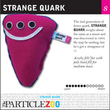 strange quark subatomic particle plush toy