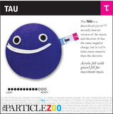tau subatomic particle plush toy