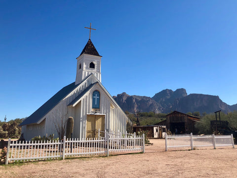 Church at Superstition Mountain, Arizona