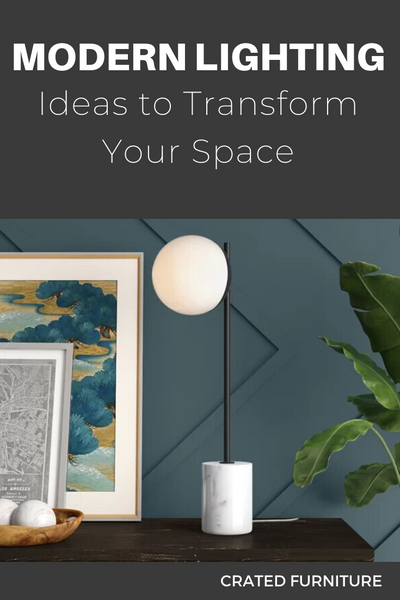 Transform your Space with Modern Lighting
