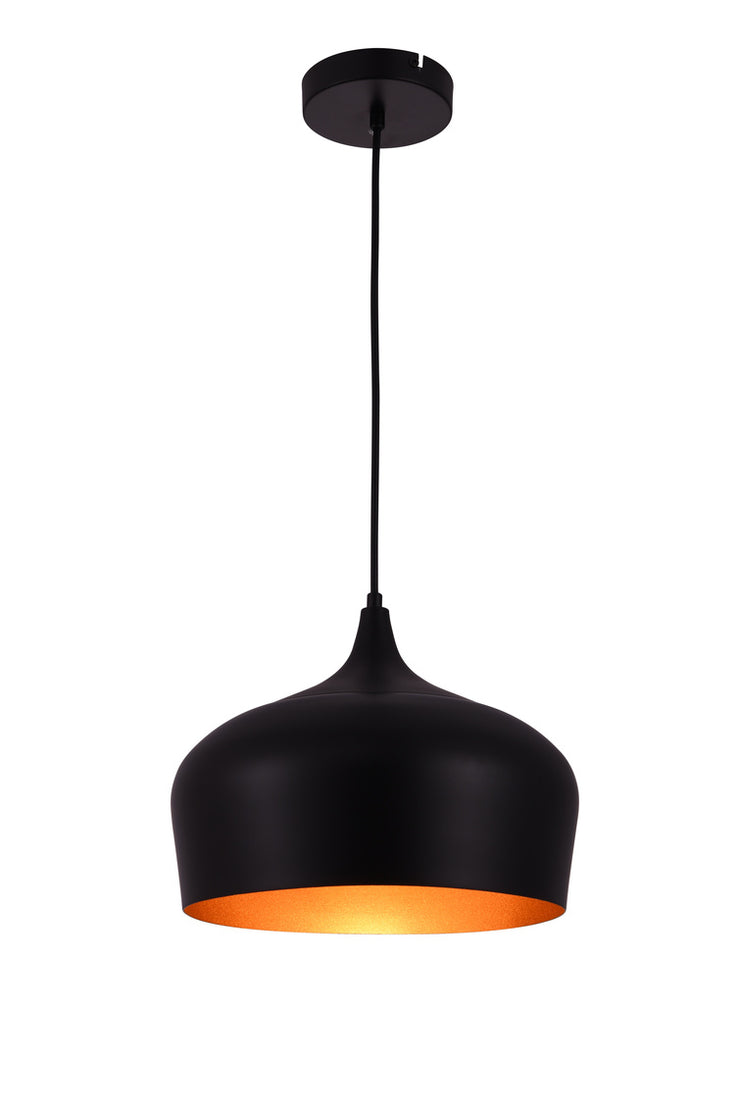 Elegant Nora Collection Pendant Black