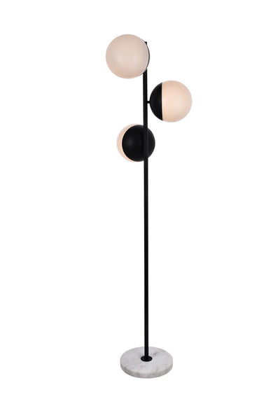 Triclipse Black Floor Lamp