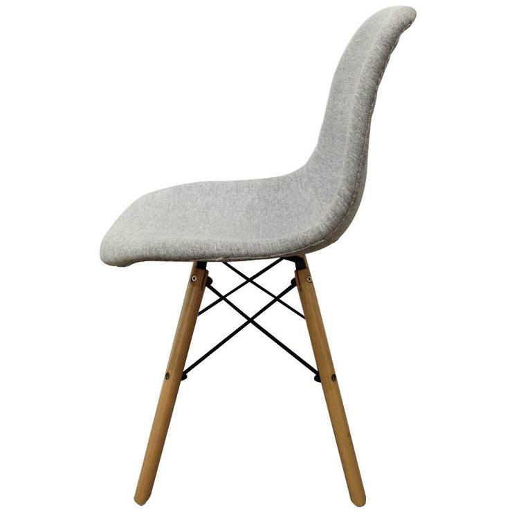 Mid-Century Upholstered Grey Chair, comfy fabric chairs, inexpensive decorative chairs, furniture stores near me, home furniture store, local furniture stores