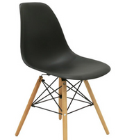 EAMES INSPIRED MID-CENTURY MOLDED CHAIR