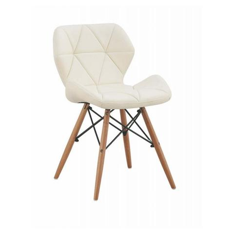 Mid-Century Geometrical Cushioned Chair