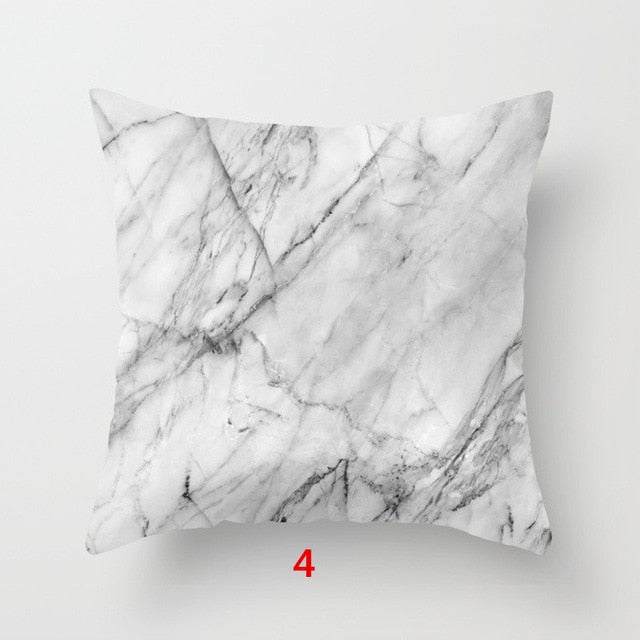 Marble Throw Pillow Case