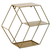 Trendy Geometrical Metal Shelf