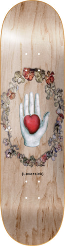 LOVESICK Hand and heart board