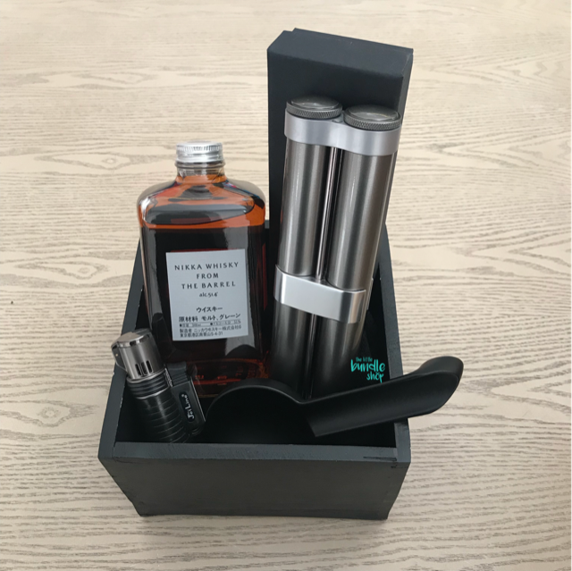 The Whiskey and Cigar Bundle-Gifts for Him-The Little Bundle Shop-The Little Bundle Shop