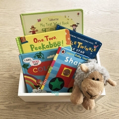 The First Library Bundle - English-Gifts for Little Ones-The Little Bundle Shop-The Little Bundle Shop