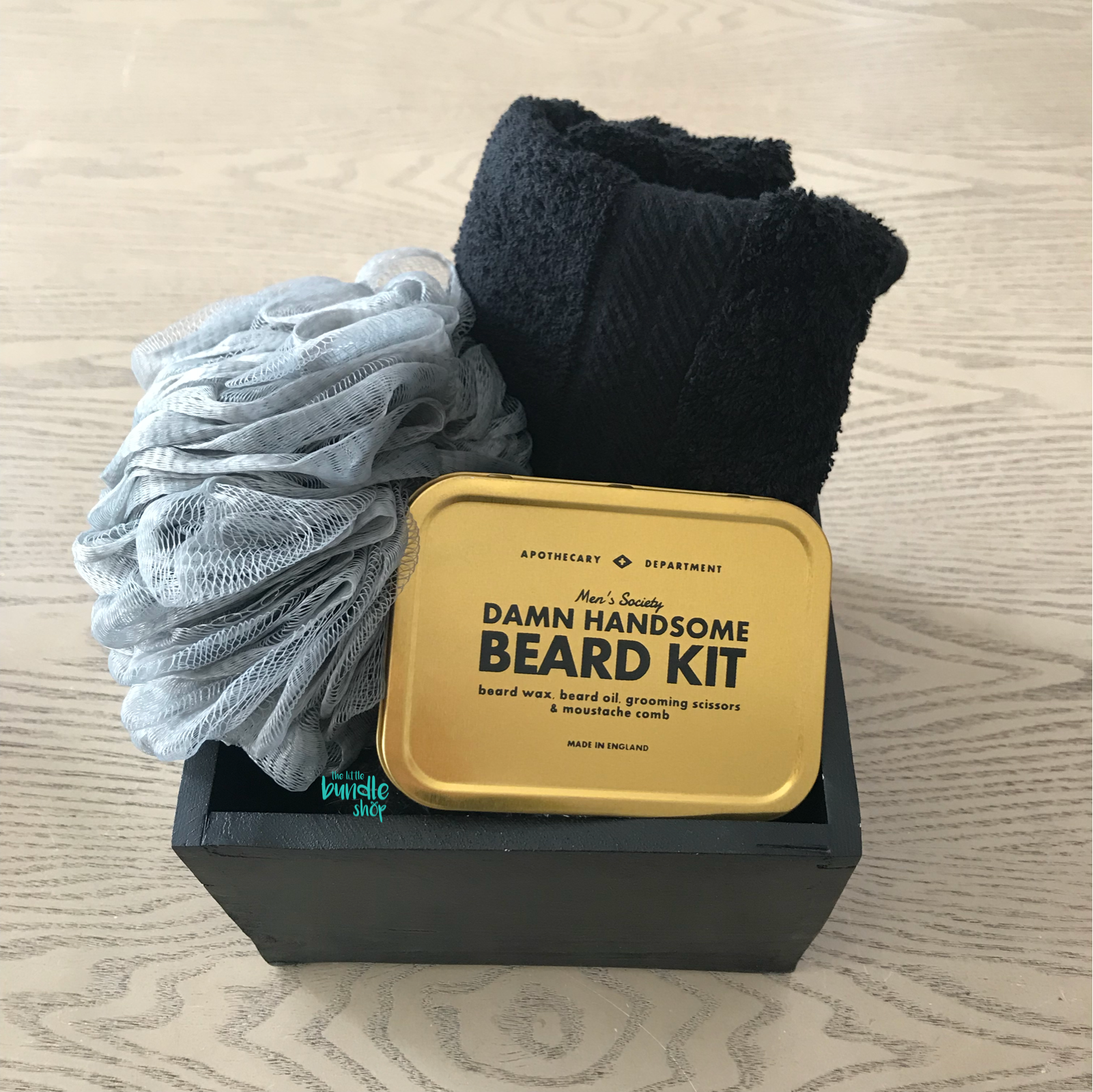 The Men's Mini Beard Grooming Bundle - The Little Bundle Shop