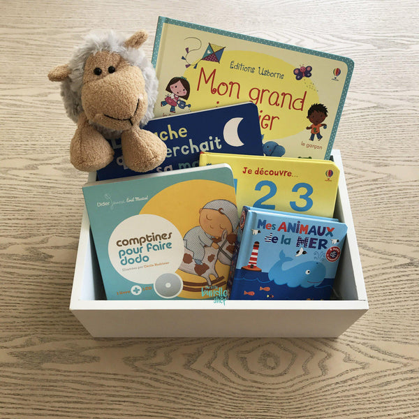The First Library Bundle - French-Gifts for Little Ones-The Little Bundle Shop-The Little Bundle Shop