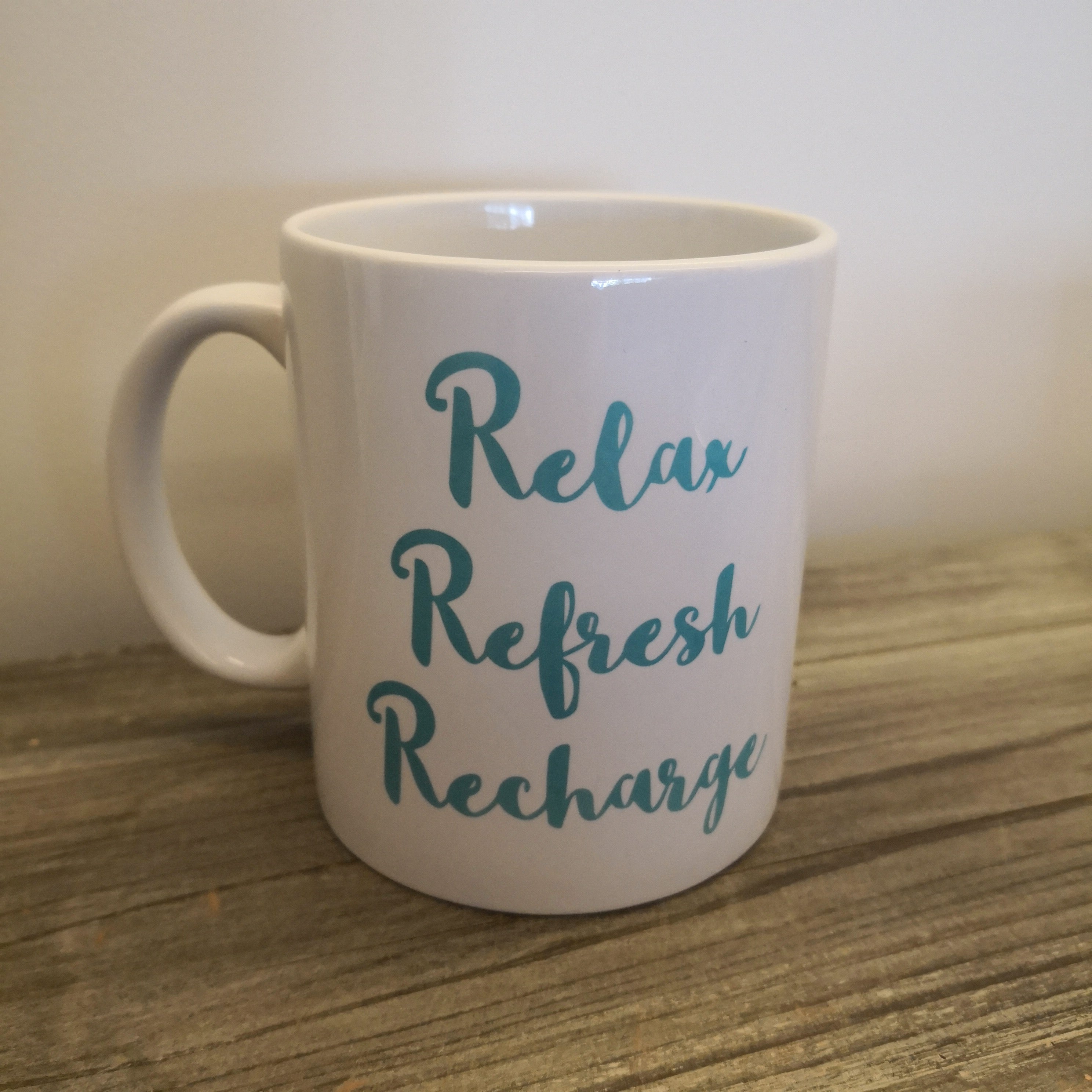 Relax Refresh Recharge Mug-Gifts for Her-The Little Bundle Shop-The Little Bundle Shop