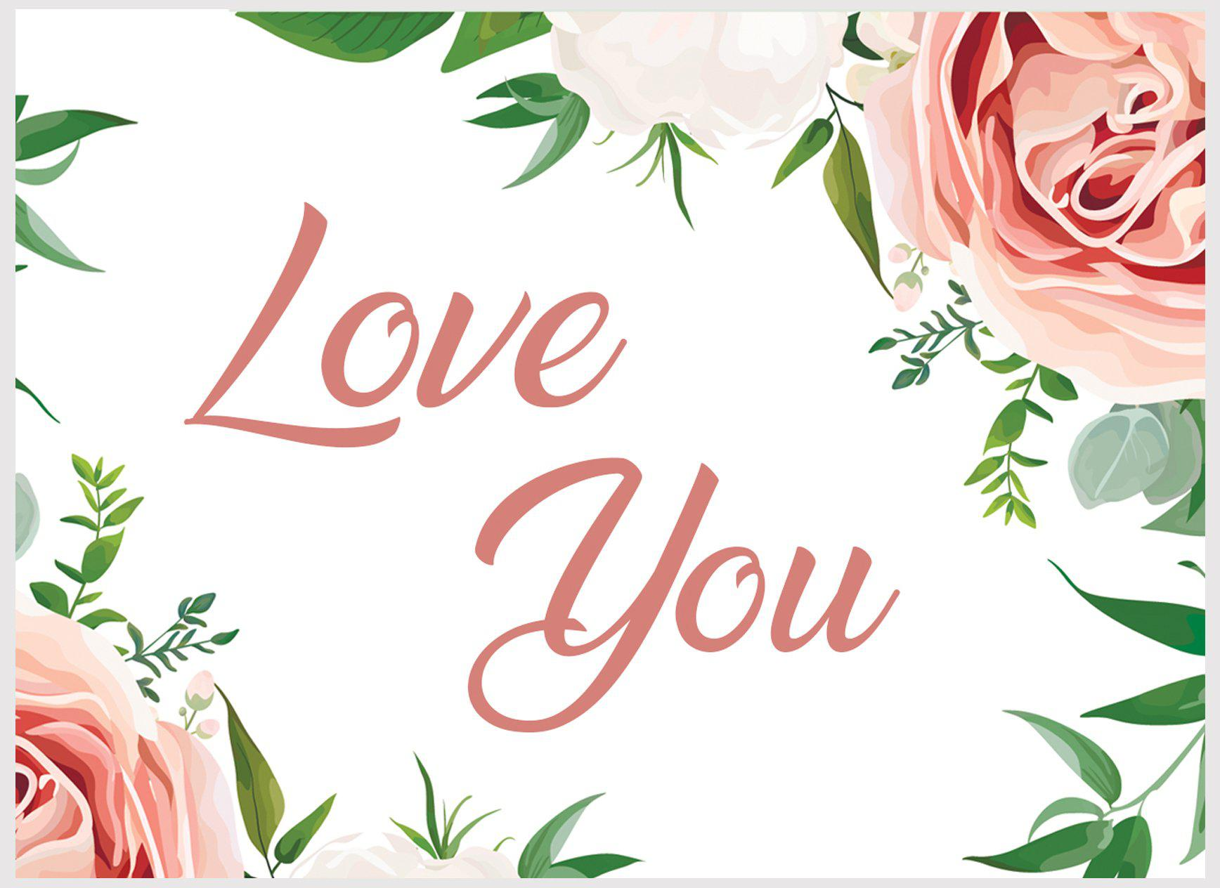 Love You Postcard-Gifts for Her-The Little Bundle Shop-The Little Bundle Shop