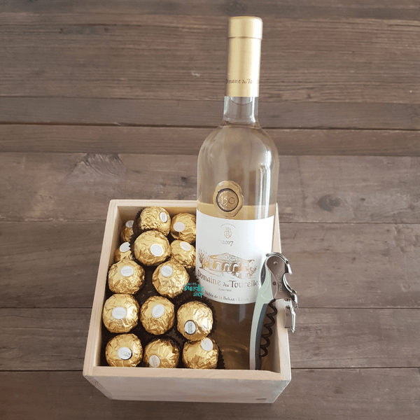 The White Wine & Chocolate Bundle - The Little Bundle Shop