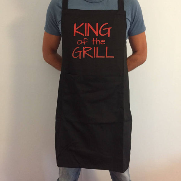 King of the Grill Apron - The Little Bundle Shop