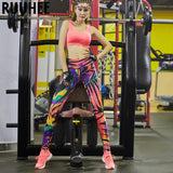 Fitness Yoga Pants Sport Legging Women  Sportswear Training Running Tights Elastic Gym Calzas Mujer Leggins Ropa Deportiva