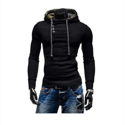 Brand Leisure Suit Fleece Hoodie Jackets New Man Hoody Casual Sweatshirt Mens 2 Colors Men Sportswear Men Hoodie Sweatshirt