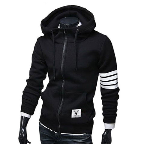 NEW Fashion Men Hoodies Brand Leisure Suit High Quality Men Sweatshirt Hoodie Casual Zipper Hooded Jackets Male M-3XL