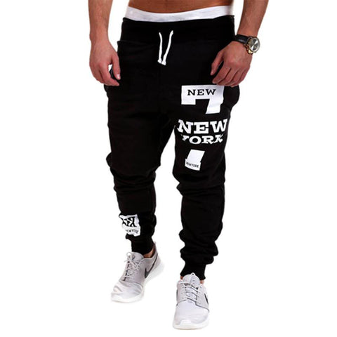 Spring & Autumn Outdoors Cargo Loose Trousers Men Sweat Leisure Joggers Pants Slim Fit Sweatpants for Dance Leisure Pants