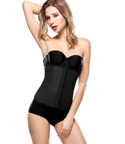 Hot Body Shaper Women Underbust Rubber Waist Corset Waist Latex Steel Bone Slim Belt Women Waist Cincher Shapewear