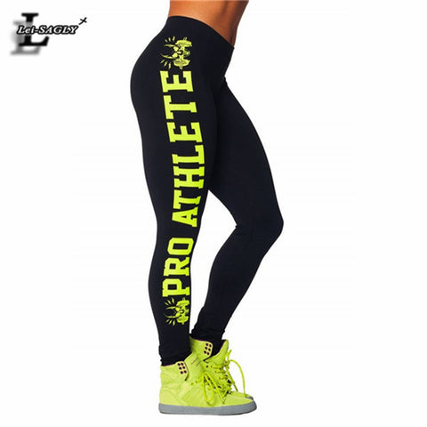 High Quality Letter Printed Leggings Warm Youth Pants Women's Winter Trousers For Women Workout Slim Elastic Leggins SLgs9115