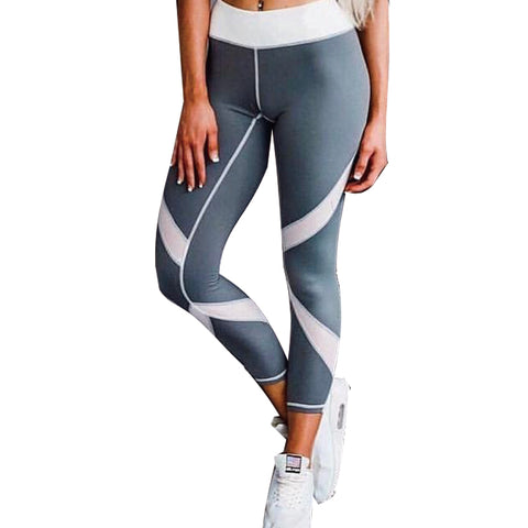 2017 New Women Fashion Fitness Legging leggins Woman Pants Slim Patchwork Leggings