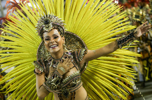 Feathers for the Rio Carnival