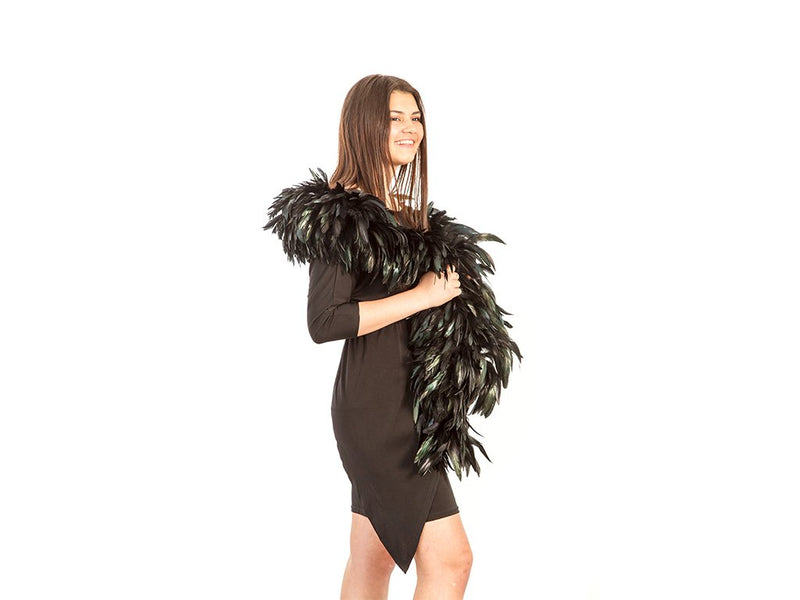 Black Feather Boas | Coque Schlappen - FancyFeather.com