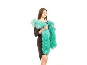 Ostrich Feather Boa | Ostrich Fade Dyed Feather Boa