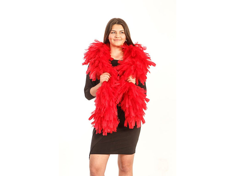 "Extra Large Feather Boa - Turkey Ruff boa 14-16"" - FancyFeather.com"