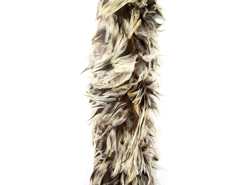 Feather Boas | Coque Badger Hackle - FancyFeather.com