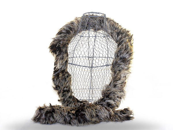 Rooster Badger Hackle Boa