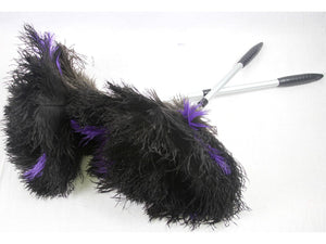 Fancy Duster - Aluminum Ostrich Feather Duster - Fancy Feather