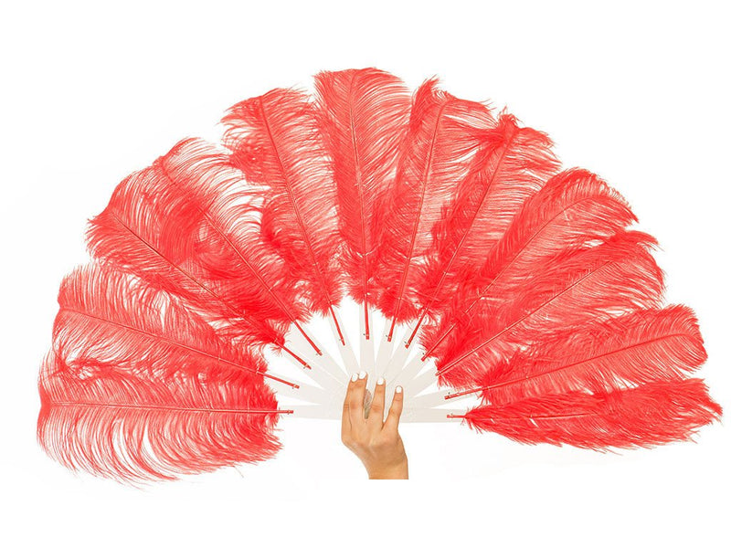 Feather Fans | Economy Burlesque Fans Single Layer - FancyFeather.com